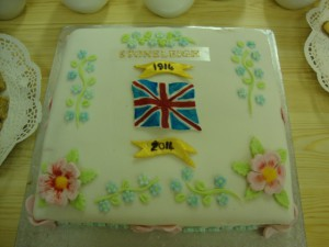 commemorative cake